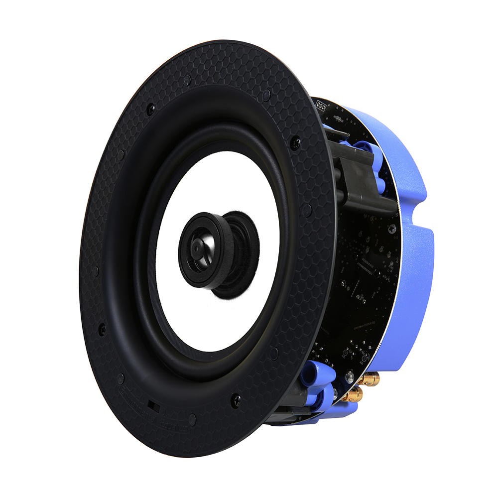 lithe audio 6 5 2 way passive ip44 ceiling speaker pair lithe